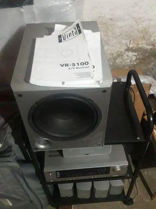 Reproductor amplificador de musica