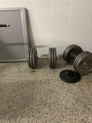 Mancuernas 30 kg