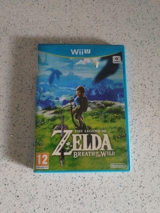 Juego Wii U Zelda Breath of the wild