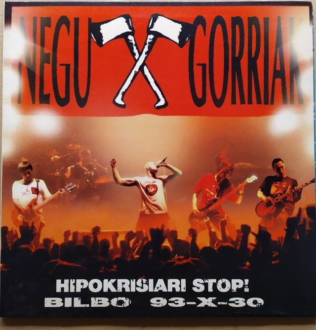 Disco de Vinilo Negu Gorriak Hipokrisiari Stop
