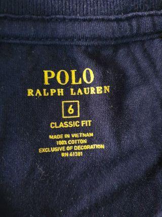 camiseta original Ralph Lauren