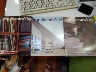Arquitectura Viva (3 revistas año 1991)