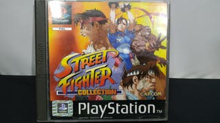 """Juego PS1/PSX Street Fighter """"Collection"""""""