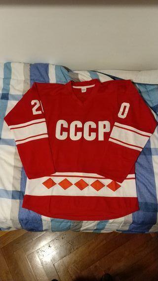 Camiseta Hockey CCCP Tretiak