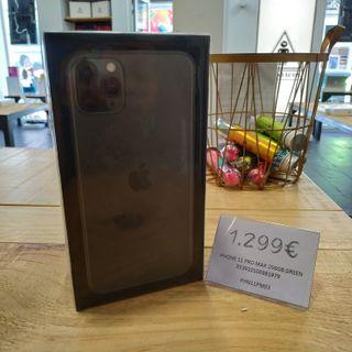 iPhone 11 Pro Max 256GB Verde ¡NUEVO!
