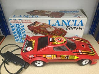 Antiguo juguete Lancia años 80 dirigido