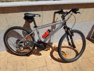bicicleta de montaña mtb de ruedas de 24 pulgadas.