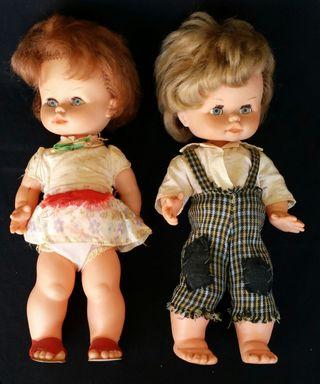 Muñeco y muñeca