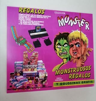 album chicles monster