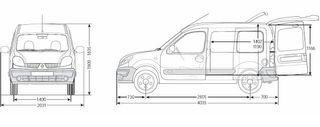 Alquiler Renault Kangoo 2006 de segunda mano por 39 € en