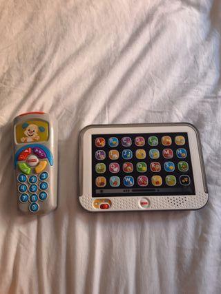 lote juguetes interactivos de fisher price