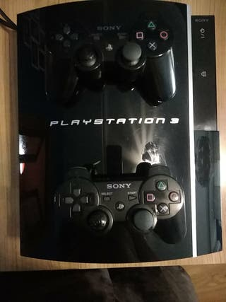 play station 3 con dos mandos
