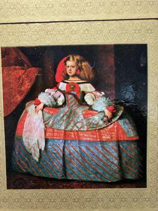 Posavasos de cuadros de Velázquez