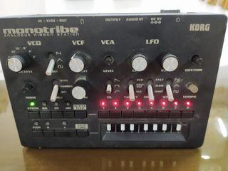 Monotribe Korg sintetizador