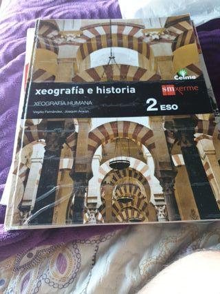 libro de xeografia e historia de segundo de la eso