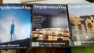 Arquitectura viva (3 revistas)