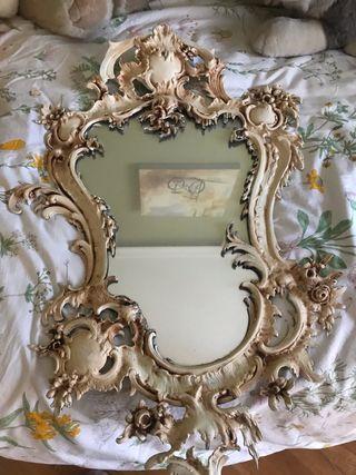 Se vende espejo antiguo restaurado