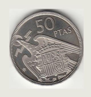 MONEDA 50 PESETAS 1957*72