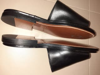Sandales en cuir Yohji Yamamoto
