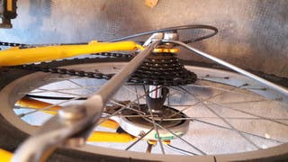 Bicicleta plegable movimiento urbano