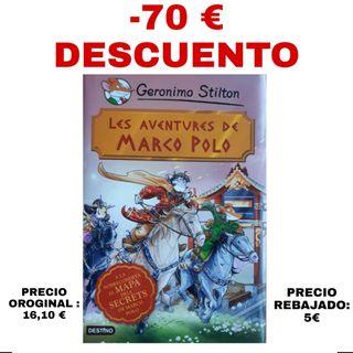 Libro : Les Aventure de Marco Polo