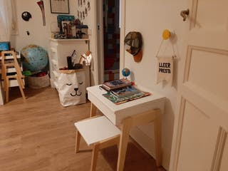escritorio infantil estilo nórdico
