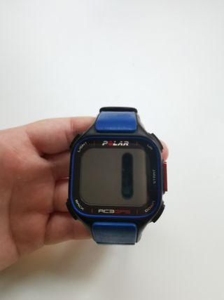 Polar RC3 GPS + cinta original polar + cargador