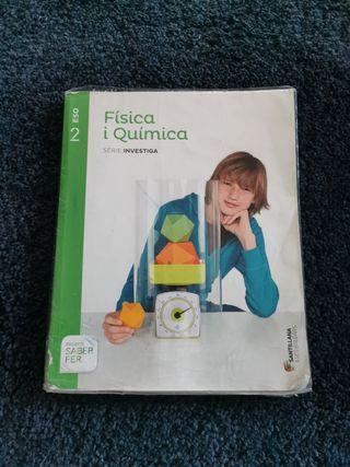libro segundo ESO fisica y fisica santillana