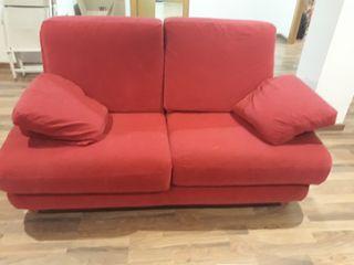 sofa de 2pz y 3 pz Fucsia 100 euros conjunto,Urge