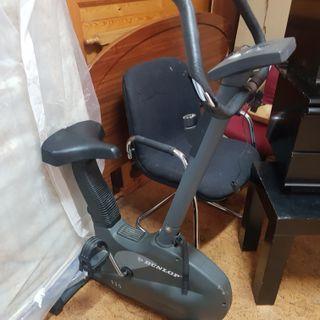 bicicleta estática dunlop