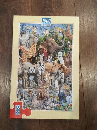 """Puzzle 1000 """"El mundo animal"""""""