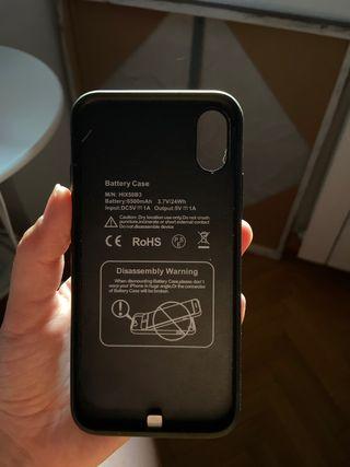 Carcasa batería iPhone x