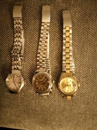 lote relojes automaticos