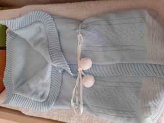 Saco de lana para capazo o cuna