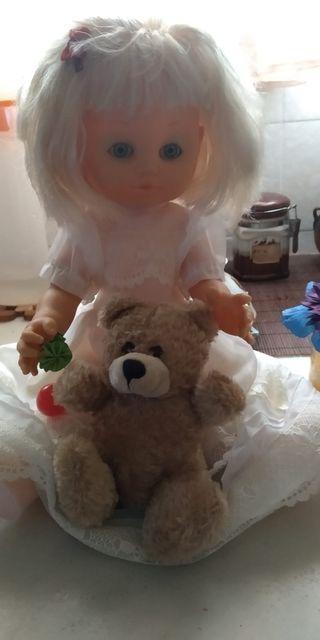Muñeca juguete para niñas