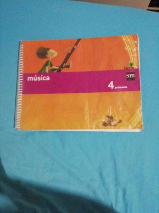 música cuarto primaria