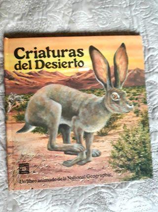 Criaturas del desierto. LIBRO ANIMADO 3D. National