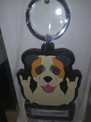 Llavero pitbull