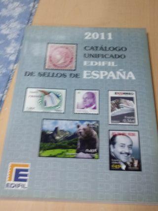Catalogo de sellos 2011 Edifil