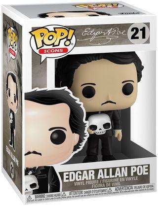 Funko Pop Edgar Allan Poe 21.