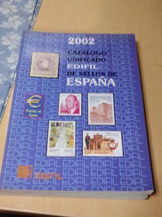 Catálogo de sellos del 2002. Edifil