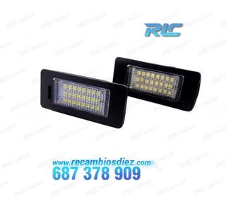 LUCES DE MATRÍCULA LED VW SHARAN 7N