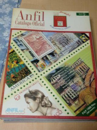 Catálogo de sellos de 1996. Anfil