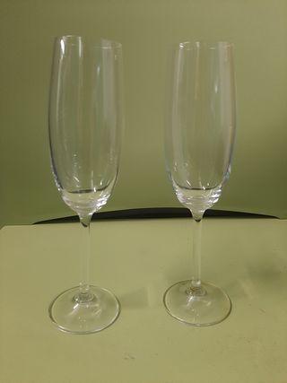 Copa Champagne cristal bohemia