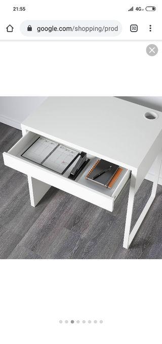 Silla ordenador y escritorio.