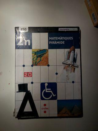 Libro Matematicas segundo de la ESO Cruïlla