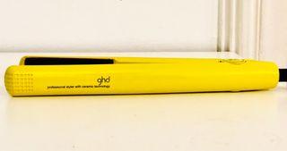 Plancha de pelo GHD limited edition!