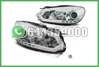 FAROS TUBE LIGHT CROMO VW GOLF MK6