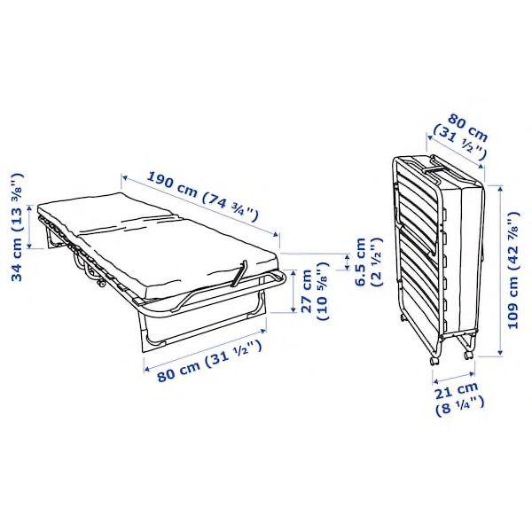 Cama plegable Ikea