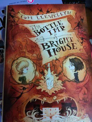 Libro inglés juvenil Bottle Imp of Bright House